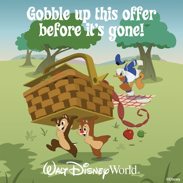 Disney World FREE Dining Promo