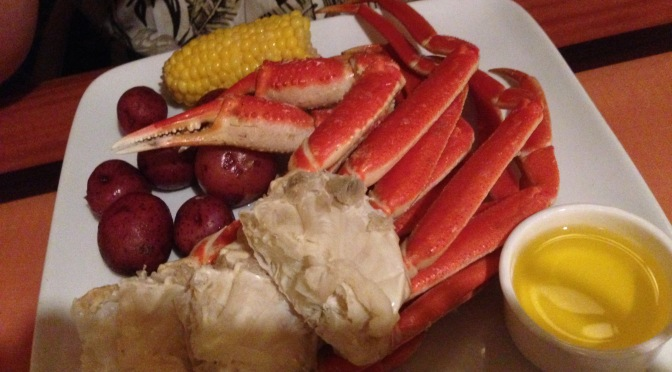 Captains Grille Dinner Review