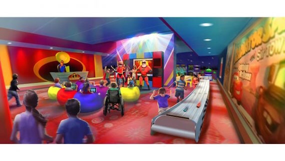 PIXAR PLAY ZONE AT DISNEY'S CONTEMPORARY RESORT