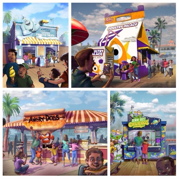 Transformation of Pixar Pier