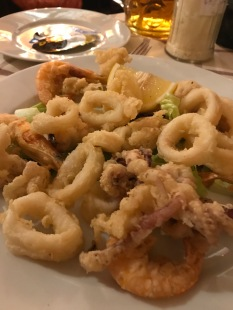 Calamri fried to perfection